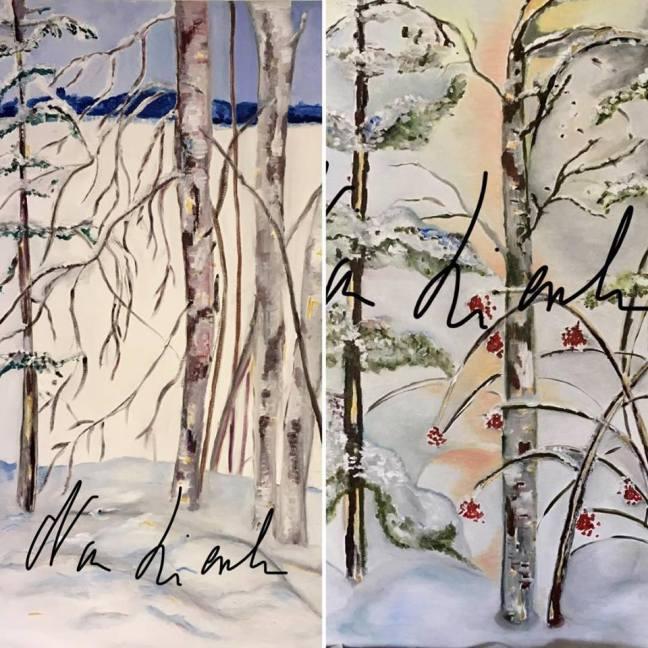 träden